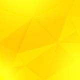 Abstract yellow geometric paper  background Stock Photography
