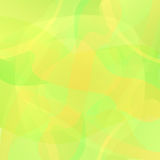 Abstract yellow geometric vector background Royalty Free Stock Photo