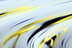 Abstract yellow golden dark blue colors, shades and lines background. Lines in motion. Abstract soft colors and colorful elegant lines in motion, waves like Stock Illustration