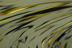 Abstract yellow golden dark colors, shades and lines background. Lines in motion Stock Photos