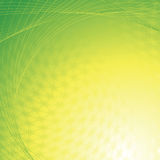 Abstract yellow green background Stock Photography