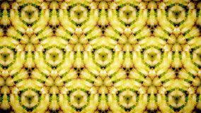 Abstract yellow green flower pattern background Royalty Free Stock Images