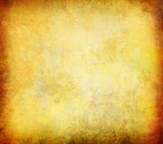 Abstract yellow grunge background Royalty Free Stock Photo