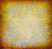 Abstract yellow grunge background Royalty Free Stock Image