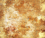 Abstract yellow grunge background Royalty Free Stock Images