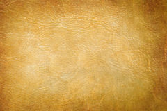 Abstract yellow leather background Royalty Free Stock Photography