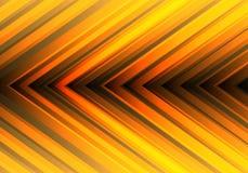 Abstract yellow light arrow direction design modern futuristic background vector. Illustration royalty free illustration