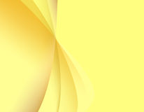 Abstract yellow light background Stock Photos