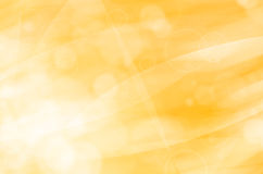 Abstract yellow light background Stock Photography