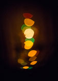 Abstract yellow lights Royalty Free Stock Images
