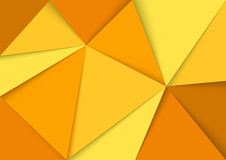 Abstract Yellow Mosaic Background Royalty Free Stock Photo
