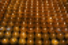 Abstract yellow mosaic block Stock Photography