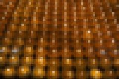 Abstract yellow mosaic block Stock Photography