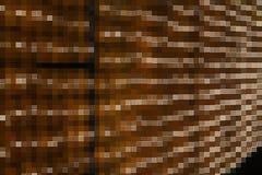 Abstract yellow mosaic block Royalty Free Stock Image