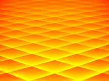 Abstract in yellow and orange. Diamond pattern abstract in glowing yellow and orange tones Royalty Free Stock Photo