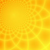 Abstract yellow & orange fractal background Stock Photo