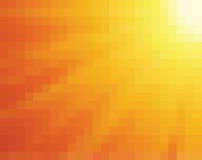 Abstract yellow and orange mosaic. Abstract yellow and orange light burst vertical square mosaic vector background Stock Photos