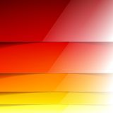 Abstract yellow, orange and red rectangle shapes Stock Photo