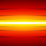 Abstract yellow, orange and red rectangle shapes Stock Photography