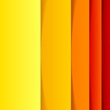 Abstract yellow, orange and red rectangle shapes Royalty Free Stock Photos