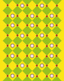 Abstract yellow pattern Stock Photos
