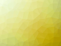 Abstract yellow polygonal background. Abstract yellow gradient low polygon shaped background Stock Images