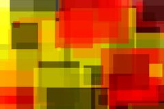 Abstract yellow red grey squares illustration background. Abstract minimalist yellow red black illustration with squares useful as a background, in colours of royalty free illustration