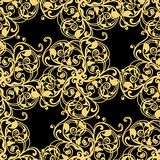Abstract yellow  seamless pattern Stock Images