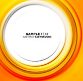 Abstract yellow shine template Stock Images
