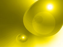 Abstract yellow speed Royalty Free Stock Images