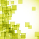 Abstract yellow square background Royalty Free Stock Photos