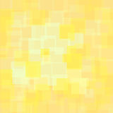 Abstract Yellow Squares Background Stock Image