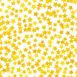 Abstract yellow star background. Vector illustration Royalty Free Stock Image