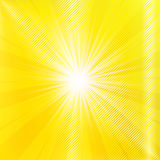 Abstract yellow summer background Stock Images