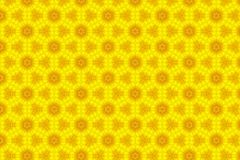 Abstract yellow sunflower pattern background.  Royalty Free Stock Images
