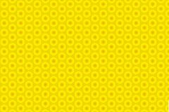 Abstract yellow sunflower pattern background.  Stock Photography
