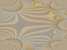 Abstract in yellow and tan Royalty Free Stock Photography