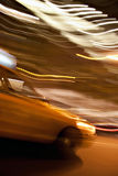 Abstract Yellow Taxi Cab Stock Photos