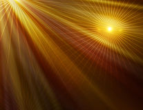 Abstract yellow technology background Royalty Free Stock Images