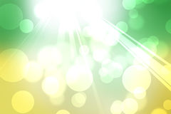 Abstract yellow to green gradient background Stock Photography