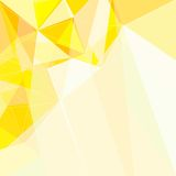Abstract Yellow Triangle Geometrical Background Stock Image