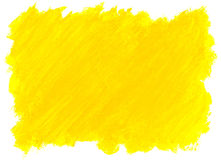 Abstract yellow watercolor background. Royalty Free Stock Photography
