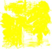 Abstract yellow watercolor splash background. art by painted image. Abstract yellow watercolor splash background royalty free illustration