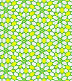 Abstract yellow, white and green tiled pattern, Tile texture background, Seamless illustration. Abstract yellow, green and white tile pattern, Tiled texture Stock Images
