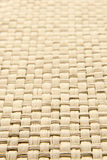 Abstract yellow woven thatch textured background Stock Photography