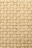 Abstract yellow woven thatch textured background Royalty Free Stock Photos