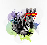 Abstract zebra Royalty Free Stock Images