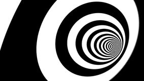 Abstract zebra white and black form animation stock footage