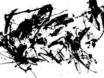 Abstract Zen ink Painting Graphic Royalty Free Stock Photos