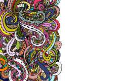 Abstract zentangle background, sketch for your design Royalty Free Stock Image